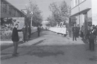 二十世纪八、九十年代医院大门