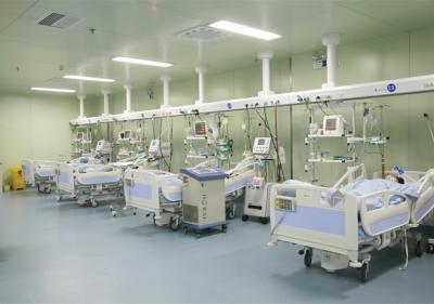 ICU病房一角