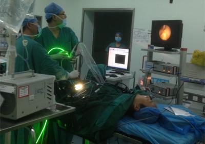绿激光尿道狭窄汽化术