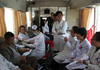 输血科组织义务献血