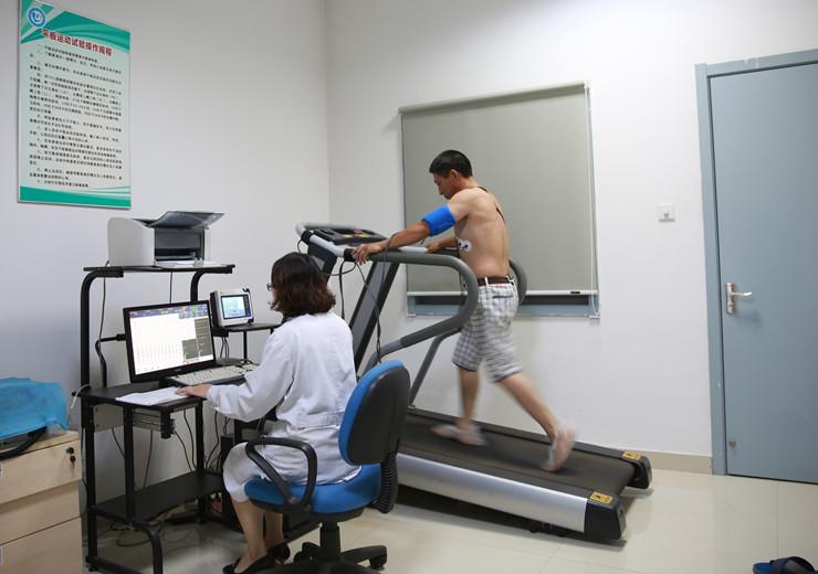 平板运动试验检查